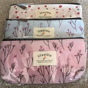 Handbags - Brand new lifestyle small cosmetic or pencil cases